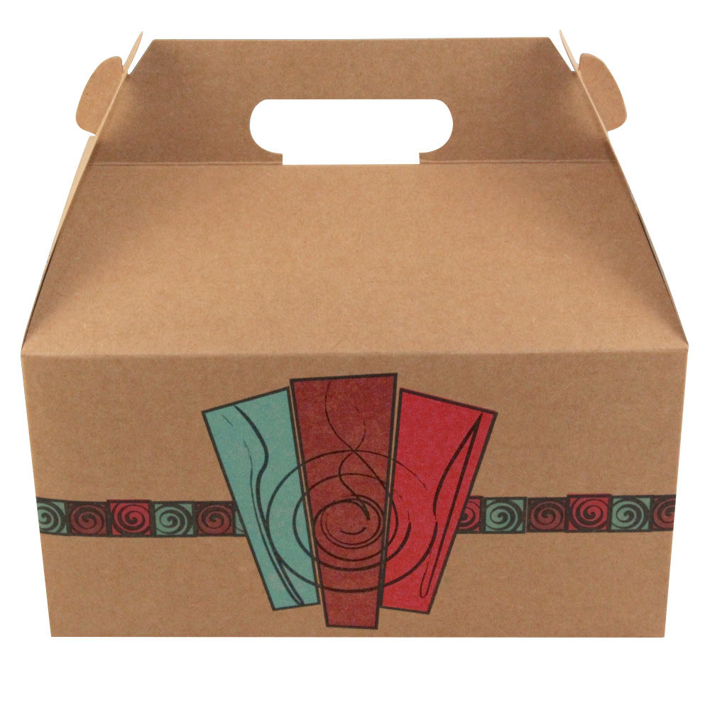 Barn Take Out Lunch Box Chicken Box With Harvest Design